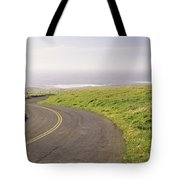 Road Along The Coast, Point Reyes Tote Bag
