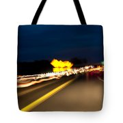 Road At Night 1 Tote Bag