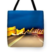 Road At Night 2 Tote Bag