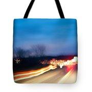 Road At Night 3 Tote Bag