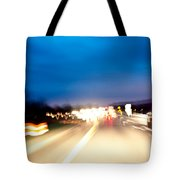 Road At Night 5 Tote Bag