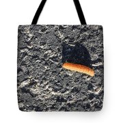 Road Caterpillar Tote Bag