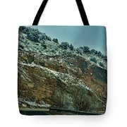 Road Cut Tote Bag