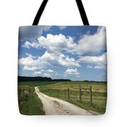 Road From The Farm Tote Bag