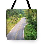 Road In The Black Hills Tote Bag