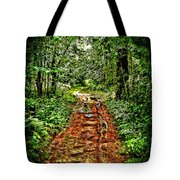 Road In The Wilderness Tote Bag