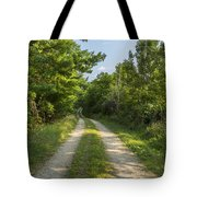 Road In Woods 1 F Tote Bag