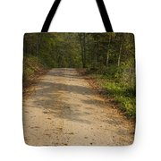 Road In Woods Autumn 2 A Tote Bag