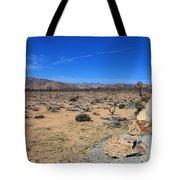 Road Into Joshua Tree National Park Tote Bag