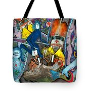 Road Kill Revisited Tote Bag