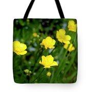 Road Of Flowers Tote Bag
