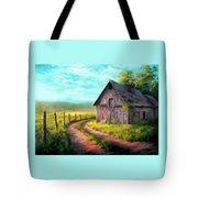 Road On The Farm Haroldsville L B Tote Bag
