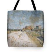 Road Running Beside The Paris Ramparts Paris, June - September 1887 Vincent Van Gogh 1853  1890 Tote Bag
