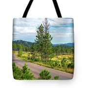 Road Through Custer State Park Tote Bag