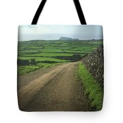 Road Through The Pastrues Of Terceira  Tote Bag by Kelly Hazel