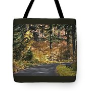 Road To Autumn Tote Bag
