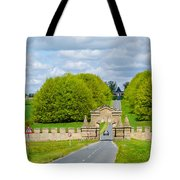 Road To Burghley House-vertical Tote Bag