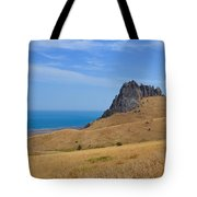 Road To Crag Tote Bag