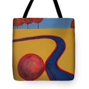 Road To Happiness Tote Bag