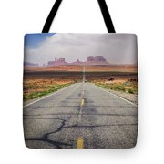 Road To Monument Valley Tote Bag