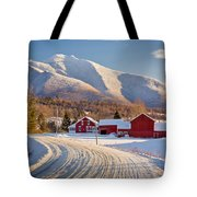 Road To Mount Mansfield Tote Bag