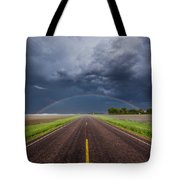 Road To Nowhere - Rainbow Tote Bag