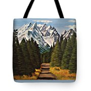 Road To Olympus Tote Bag