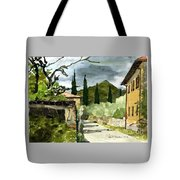 Road To Reggello Tote Bag