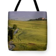 Road To Terrapille In Tuscany Tote Bag