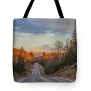 Road To The Moon Tote Bag