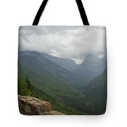 Road-to-the-sun Road Glacier Park Montana Tote Bag