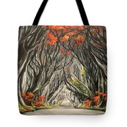 Road To The Throne Tote Bag