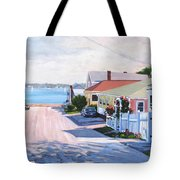 Road To Wessagussett Tote Bag