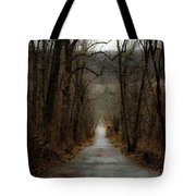 Road To Wildlife Tote Bag