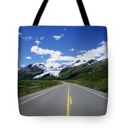 Road To Worthington Glacier Tote Bag