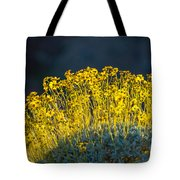 Roadside Flowers Tote Bag