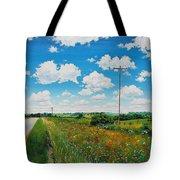 Roadside Prairie Tote Bag