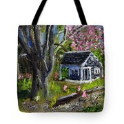 Roadside Vegetable Stand Off Season Tote Bag
