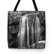 Roadside Waterfall - Ireland Tote Bag by Mike McGlothlen