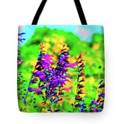 Roadside Wildflowers Tote Bag