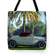 Roadster At The Castle Tote Bag