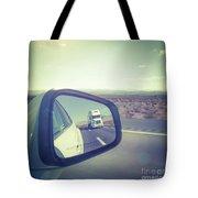 Roadtrip, Us Freeway Tote Bag