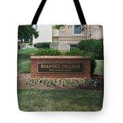 Roanoke College Sign Tote Bag