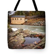 Roanoke River Niagra Rd Dam Tote Bag