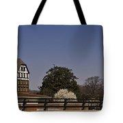 Roanoke Virginia Springtime Cityscape Tote Bag