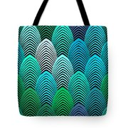 Roaring 20's Turquoise Tote Bag