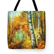 Roaring Birch  Tote Bag