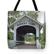 Roaring Camp Covered Bridge Tote Bag