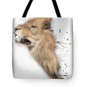 Roaring Lion No 04 Tote Bag