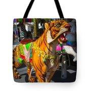 Roaring Tiger Ride Tote Bag